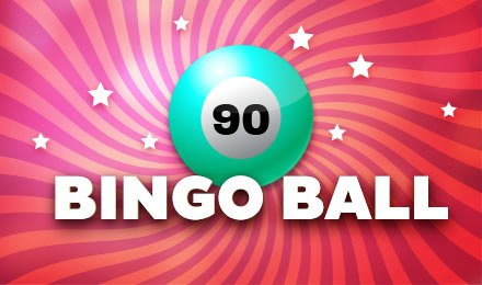 90-ball bingo is played on a single strip that contains a total of six tickets to be used per round